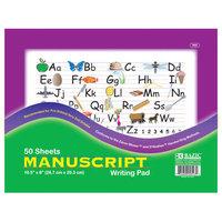 Bazic Manuscript Writing Pad (Set of 48)