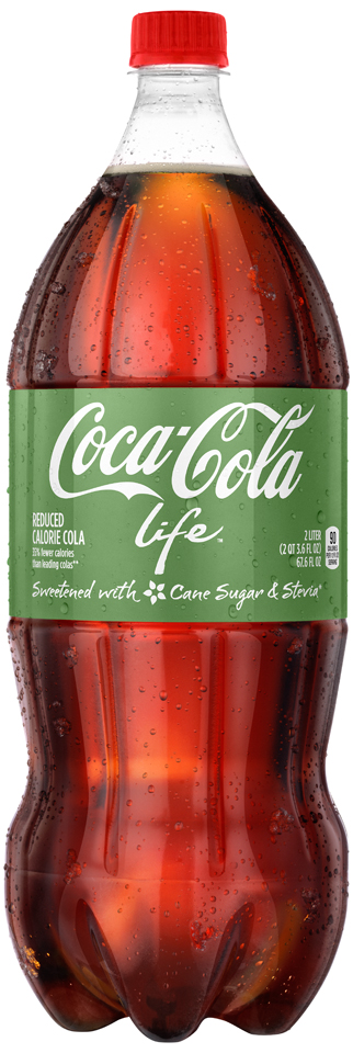 Coca-Cola Life™ 2L Bottle