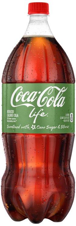 Coca-Cola Life™ 2L Bottle
