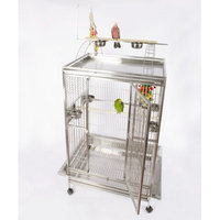 A & E Cage Co Giant Play Top Floor Bird Cage Color: Sandstone