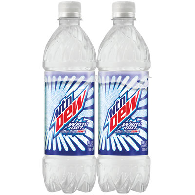 Mountain Dew® White Out® 6 Pack 16.9 fl. oz. Plastic Bottles