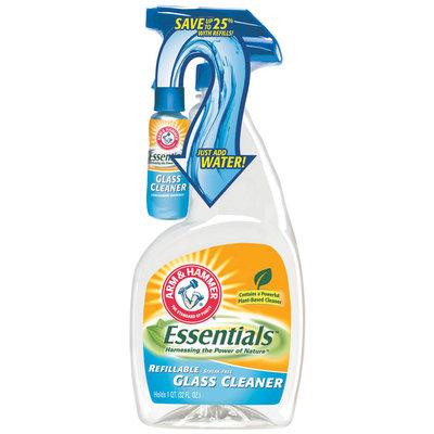 Arm & Hammer Refillable Essentials Glass Cleaner 32 Fl Oz Trigger Spray