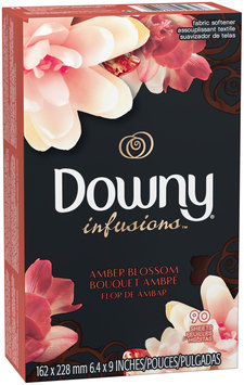 Infusions Ultra Downy® Infusions™ Amber Blossom™ Fabric Softener Sheets 90 count