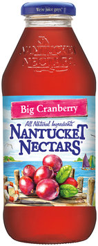 Nantucket Nectars® Big Cranberry 16 fl. oz. Glass Bottle