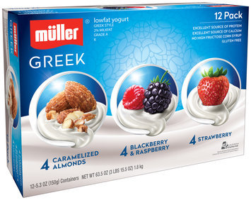 Muller® Greek Corner Variety Pack Yogurt