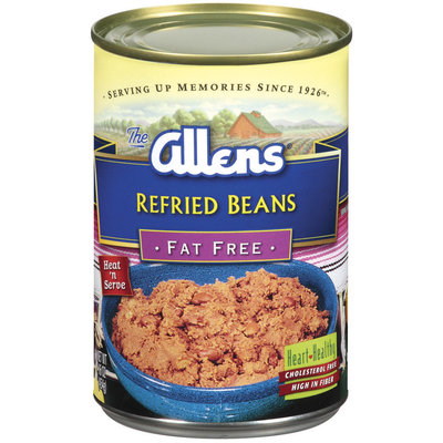 The Allens Fat Free Refried Beans 16 Oz Can