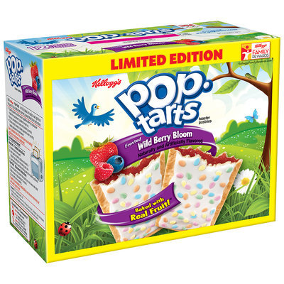 Kellogg's Pop-Tarts Frosted Wild Berry Bloom Toaster Pastries