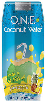 O.N.E.™ Coconut Water Beverage with a Splash of Pineapple 8.5 fl. oz. Carton