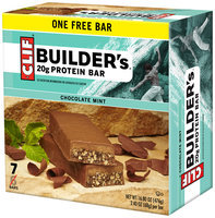 CLIF Builder's® Chocolate Mint Protein Bars 7 ct Box