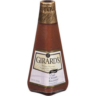 Girard's® Light Creamy Balsamic Vinaigrette 12 fl. oz. Glass Bottle