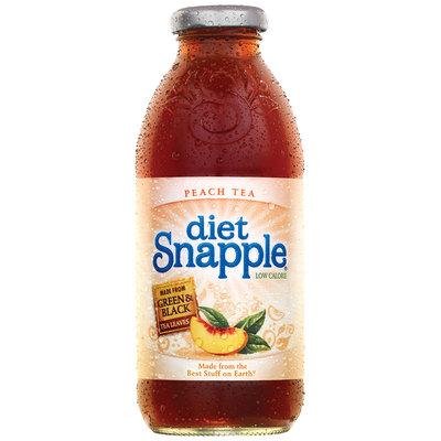 Snapple Peach Diet Iced Tea 16 Oz Glass Bottle