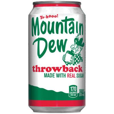 Mountain Dew® Throwback 12 fl. oz. Can