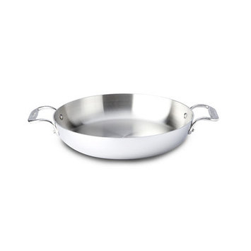 All Clad All-Clad 12-in. Stainless Steel Stainless Low Casserole