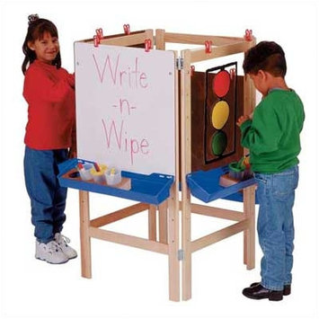 Jonti-Craft 4 Way Adjustable Childrens Easel