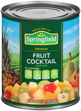 Springfield® Fruit Cocktail in Heavy Syrup 30 oz. Can