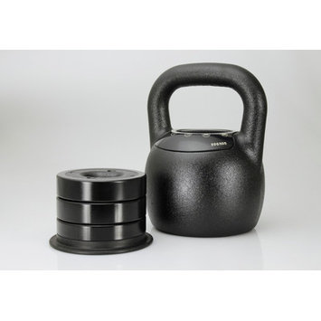Mileage Fitness Adjustable Kettlebell Weight: 35 - 55 lbs