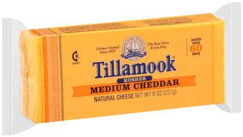 Tillamook® Kosher Medium Cheddar Cheese 8 oz. Brick