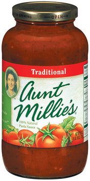 AUNT MILLIE'S Traditional Pasta Sauce 26 OZ JAR