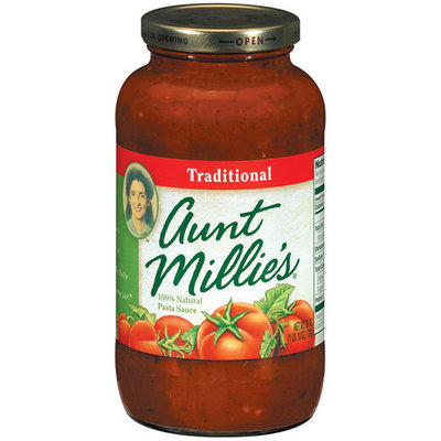 AUNT MILLIE'S Traditional Pasta Sauce 26 OZ JAR