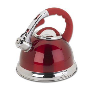Lenox 2.5 Qt Tea Kettle in Red