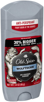 Wild Collection Old Spice Wild Collection Wolfthorn Scent Men's Invisible Solid Anti-Perspirant & Deodorant 3.4 oz