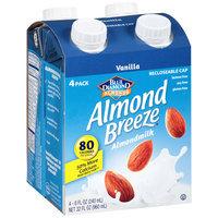 Blue Diamond® Almond Breeze® Vanilla Almondmilk 4-8 fl. oz. Aseptic Pack