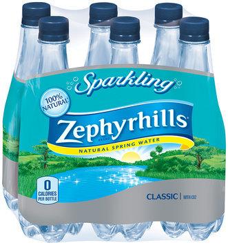 Zephyrhills Sparkling Natural Spring Water