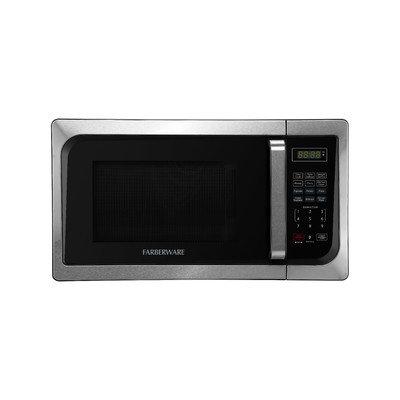 Farberware Classic 0.9 Cu. Ft. 900W Countertop Microwave Oven in Black