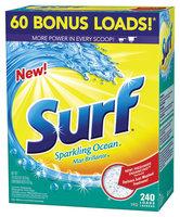 Surf Sparkling Ocean 240 Loads Laundry Detergent 312 Oz Box