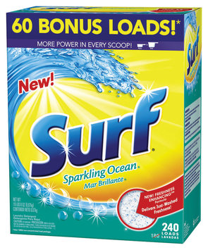 Surf Sparkling Ocean 240 Loads Laundry Detergent 312 Oz Box