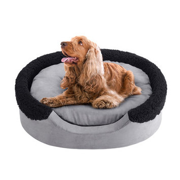 Soft Touch Lucky Oval Cuddler Dog Bed - 27
