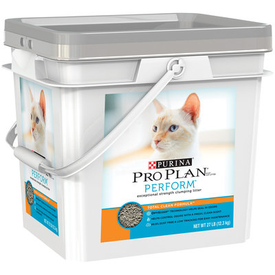 Purina Pro Plan Perform Total Clean Formula Cat Litter 27 lb. Pail