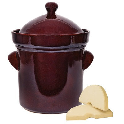 Tsm Products 5L Polished Fermentation Crocks