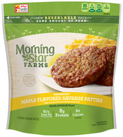 Morning Star Farms® Breakfast Maple Flavored Sausage Patties 8 oz Package
