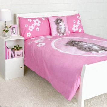 Dissero Brands So Sweet Kitten Duvet Cover Queen Set