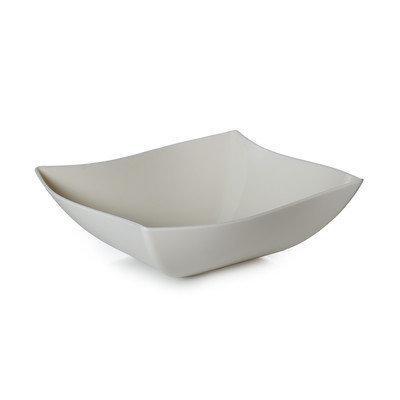 Fineline Settings, Inc Wavetrends 32 oz. Serving Bowl (Pack of 50), Bone