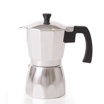 Holstein Housewares 6 Cup Coffee/Espresso Maker Color: Aluminium