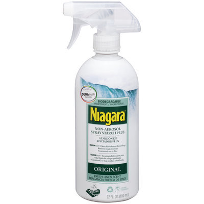 Niagara® Non-Aerosol Spray Starch Plus 22 fl. oz. Trigger Spray
