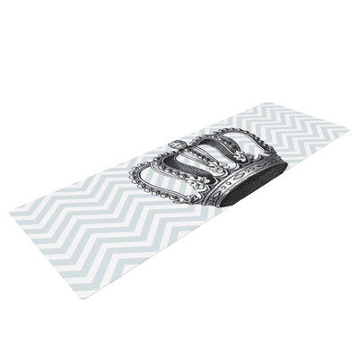 Kess Inhouse Crown by Suzanne Carter Yoga Mat