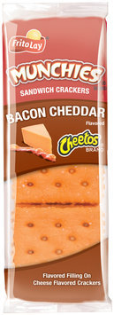 Frito-Lay® Munchies™ Cheetos® Bacon Cheddar Sandwich Crackers 1.38 oz. Wrapper