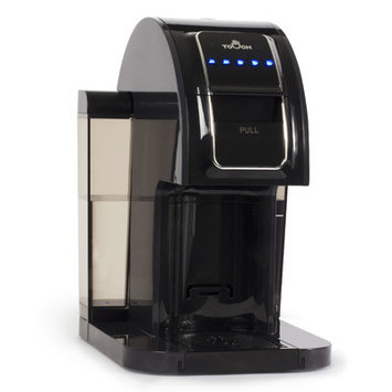 Touch Coffee Makers Single Serve Brewer Black T214B
