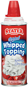 Stater Bros.® Original Whipped Topping 6.5 oz. Aerosol Can