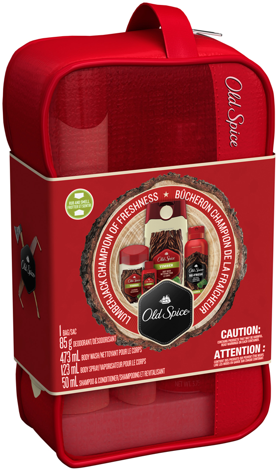 Mixed Old Spice Fresher Collection Timber Holiday Pack