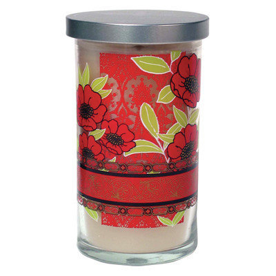 Acadian Candle Lime and Mandarin Orange Designer Candle