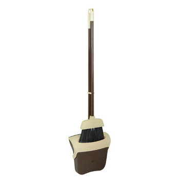 Superior Performance 2 Piece Broom and Dustpan Set