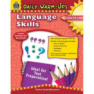 Teacher Created Resources 3991 Daily Warm-Ups: Language Skills Grade 1