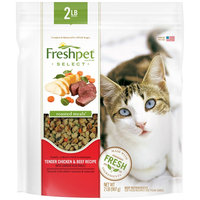 Freshpet® SELECT ROASTED MEALS® TENDER CHICKEN & BEEF RECIPE WITH GARDEN VEGETABLES