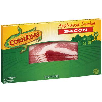 Corn King® Applewood Smoked Bacon 12 oz. Box