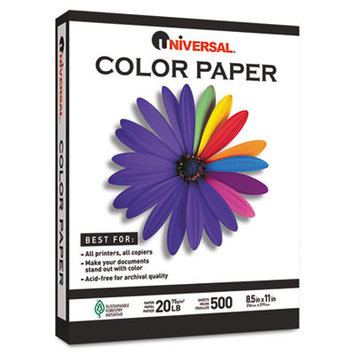 Universal Office Products Color Paper Universal Premium Colored