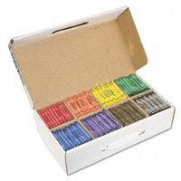 Dixon Ticonderoga Co. Dixon Ticonderoga Company Regular Crayons, Nontoxic, 800/BX, Assorted Colors